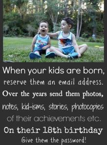 Kids Email Address